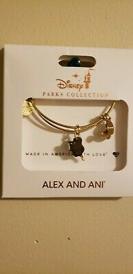 NEW Disney Parks Alex And Ani Mickey Mouse Ice Cream Bar Gold Bangle Bracelet