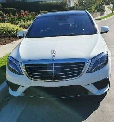 2015 Mercedes-Benz S-Class S 63 AMG 2015 Mercedes-Benz S-Class S 63 AMG -- Fully Loaded