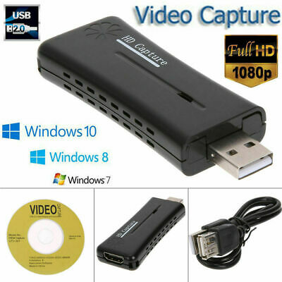 Portable HD USB2.0 HDMI 1080P 60fps Monitor Video Capture Card For Computer AS