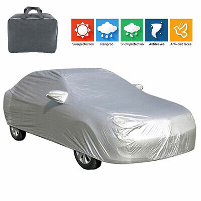 Full Waterproof Medium 2 Layers Outdoor Car Cover Breathable UV Protection