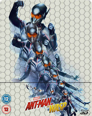 ANT-MAN AND THE WASP 3D (and 2D) BLU-RAY STEELBOOK (CLEARANCE PRICES)