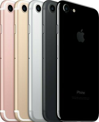 Apple iPhone 7 - 32GB -Black (GSM/CDMA Unlocked) 10/10