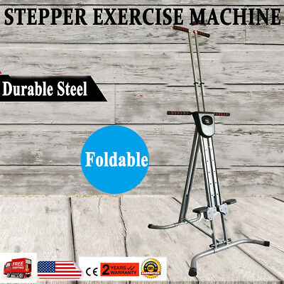NEW Climber Vertical Stepper Exercise Fitness with Monitor & Manual Sealed Gift