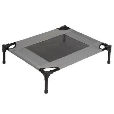 Cat Bed Small Folding Portable Metal Frame Indoor/Outdoor Weather Resistant