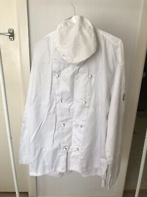 Chefs Coat And Hat White Size M