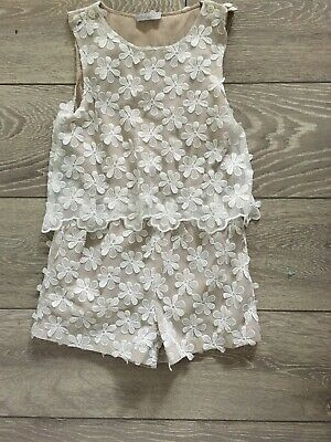 Girls Beautiful Playsuit Age 8 Christmas Outfit
