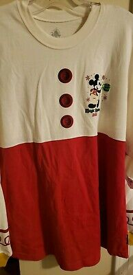 NEW Disney Mickey's Very Merry Christmas Party Spirit Jersey Size LARGE