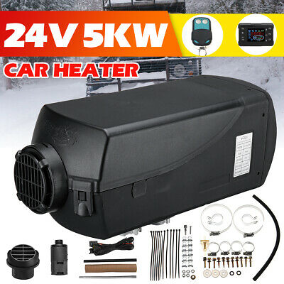 24V 5000W Air diesel Heater PLANAR 5KW Fit for Car Truck Boat Bus + LCD Monitor
