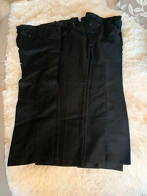 Boys Next School Trousers 13 Years (3 Pairs)