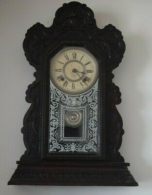 Antique  Ansonia Wall Clock , Made Of New York  #404