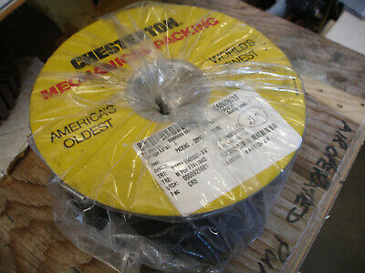 "Chesterton Graphite Braided Tape Packing 1/2"" 5.95#"