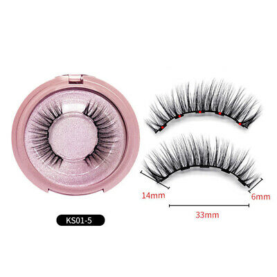False Eyelashes Beauty Natural Imitated Mink Hair 1-1.4cm Toiletries Cosmetics