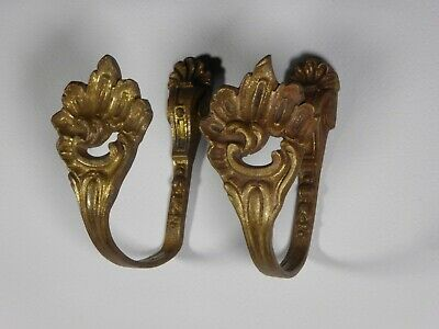 Antique French Curtain Tiebacks