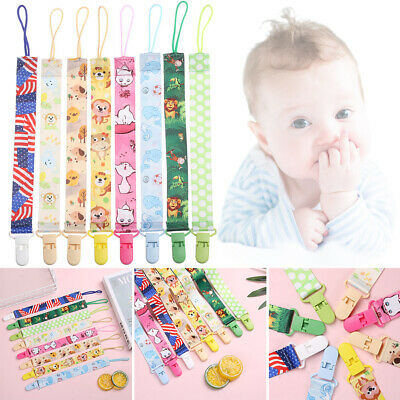 Strap Colorful Anti-drop Rope Dummy Clips Soother Baby Teething Pacifier Chain
