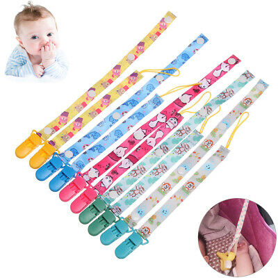 Anti-drop Rope Nipple Strap Dummy Clips Soother Baby Teething Pacifier Chain