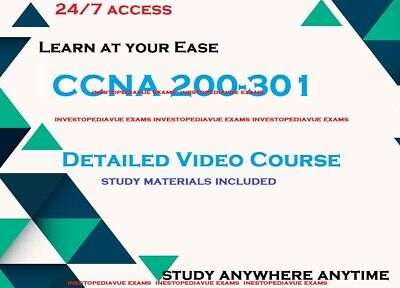 CCNA 200-301 detailed video training course