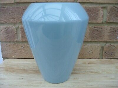 M&S Conran + ceramic Flower Vase in green - Brand New