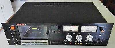 Tascam 112 - Professional 2 Channel Cassette Recorder/Player  - Top !!!