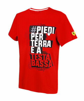 Scuderia Ferrari Mens Winners T-Shirt Formula One Team Official Licensed Product