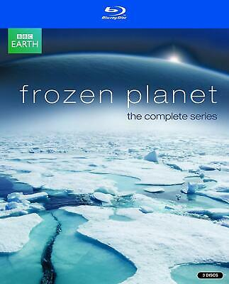 Frozen Planet - The Complete Series [Blu-ray] David Attenborough NEW SEALED BBC