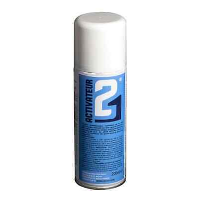 ACTIVATEUR COLLE 21 SPRAY POUR COLLE CYANOACRYLATE SUPER GLUE BOMBE 200ml