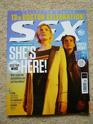 SFX Mag 305  October 2018  Dr Who - inc Free Poster and Quiz Book