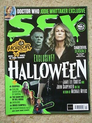 SFX Mag 306 - November 2018     Horror Issue / Halloween / Dr Who