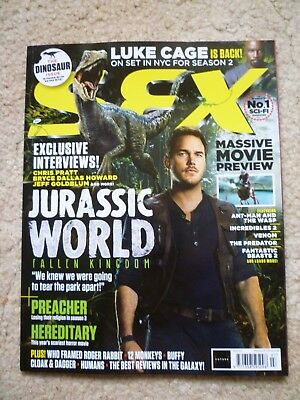 SFX Mag 301  July 2018  Jurassic World: Fallen Kingdom / Luke Cage