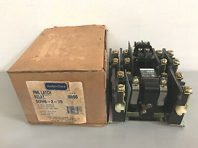 New Joslyn Clark 5UH6-2-76 PML Latch Relay 120V Coil  5UH6276