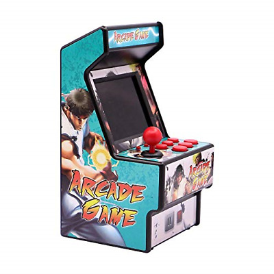 E-WOR Rechargeable Mini Arcade Game,Retro Handheld Video Game Player,Built in