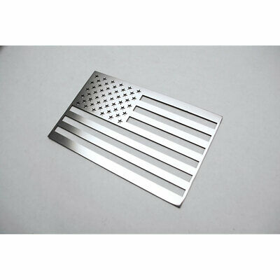ACC Driver Side Flag Emblem-1pc Stainless Steel/Polished