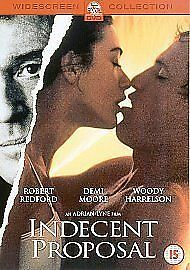 Indecent Proposal (DVD, 2002) Brand new & factory sealed.
