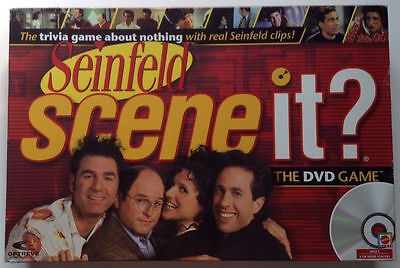 New Sealed Seinfeld Edition Scene It DVD Trivia Board Game 2008