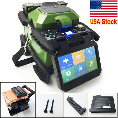 SM&MM Automatic Intelligent Optical Fiber Fusion Splicer  4.3 Inch Touch Screen