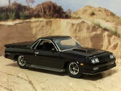 RESTO MOD 1986 Chevrolet El Camino SS V-8 Super Sport 1/64 Scale Limited Edit I2