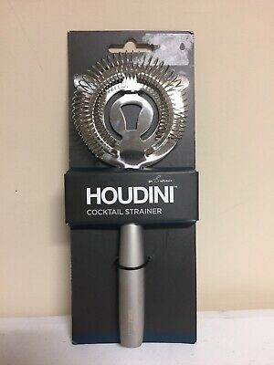 HOUDINI Deluxe Cocktail Strainer - W9954T, Stainless Steel