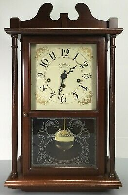 New England Westminster Chime 8 Day Wall Clock Model 222