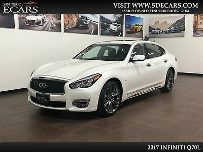 2017 Infiniti Q70 3.7 2017 INFINITI Q70L 3.7 Long Wheel Base 22k Miles Immaculate Pearl White