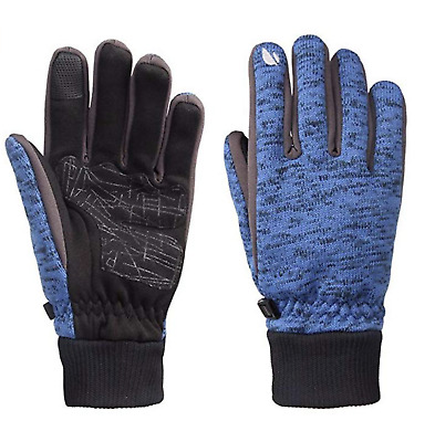Knit Touch Screen Gloves Winter Warm Gloves Skating Snow Skiing Gloves Mittens f