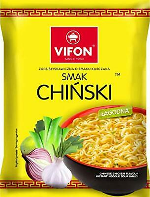 VIFON Mild Chinese Chicken Instant Noodles - 70G (Pack of 6)
