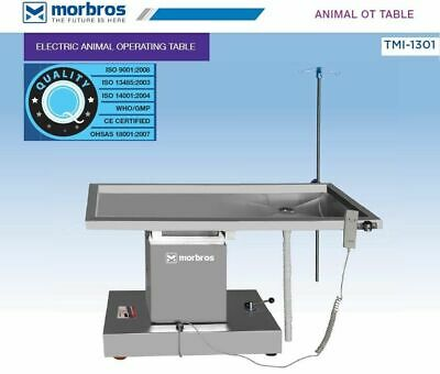 Animal TableOT Table with up & down TMI 1301 Veterinary Operating Surgical