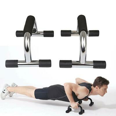 1 Pair Push Up Bars Stand Foam Handles for Chest Press Gym Fitness Exercise