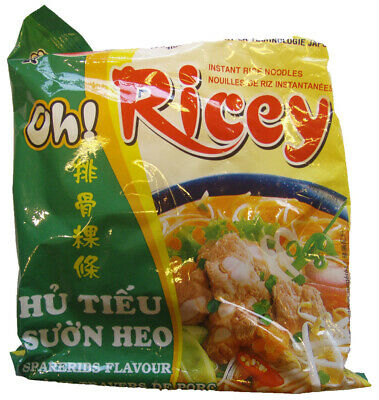 Oh! Ricey Vietnamese Rice Noodles Spareribs Flavour 70g x 4 packs