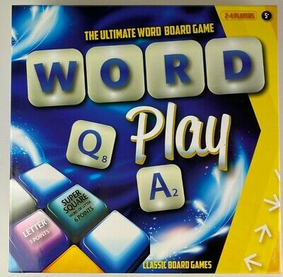 Word Play Board Game family fun, learning, literacy, spelling, education - 5+