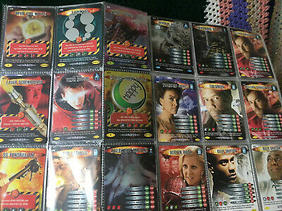 Doctor Who Battles in Time trading cards x141 2008 binder collection sci fi set