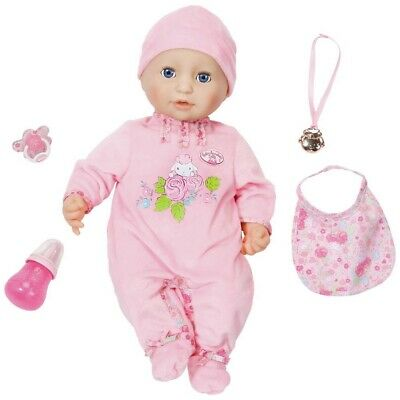 Zapf Creation Baby Annabell Interactive Doll Used