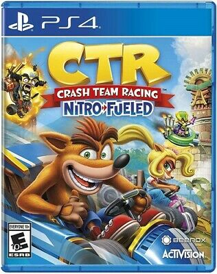 CTR Crash Team Racing - Nitro Fueled Edition (Sony PlayStation 4, 2019) PS4