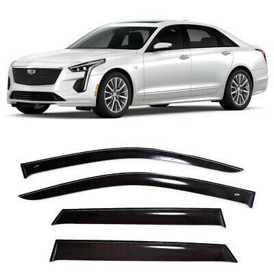 AE30187 Window Visors Guard Vent Wide Deflectors For Alfa Romeo 164 Sd 1987-1997