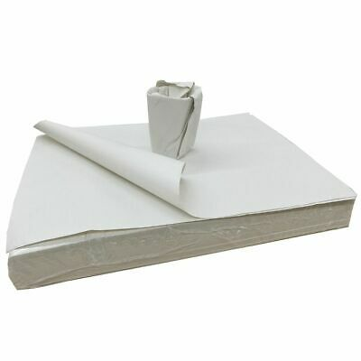1 x 10kg Ream Of White Packing Paper Newspaper Offcuts