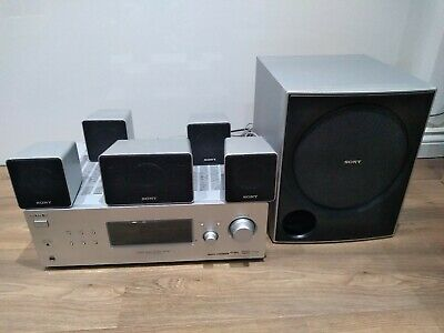Sony Home Theatre System 5.1 Amp Speakers Sub-woofer HT-DDW790 HDMI 800 watts